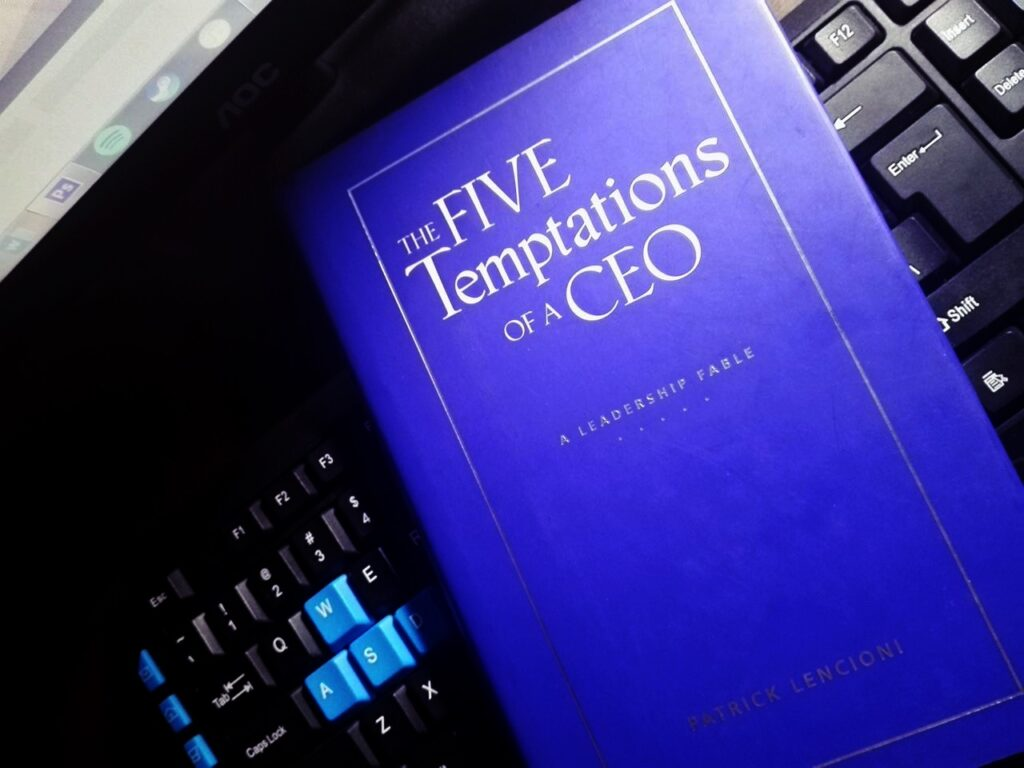 Temptations of a CEO
